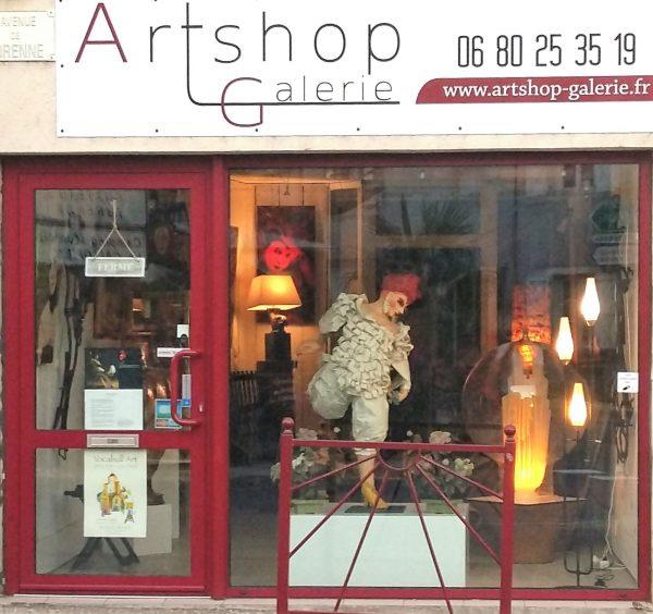 ARTSHOP GALERIE Place Gambetta 46600 MARTEL