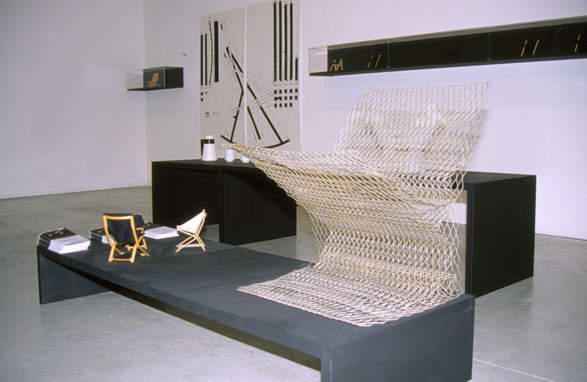 jean claude duboys 1938 1999 rocking chairs en rable mod le a 3 circa 1980 edition d 39 epoque. Black Bedroom Furniture Sets. Home Design Ideas
